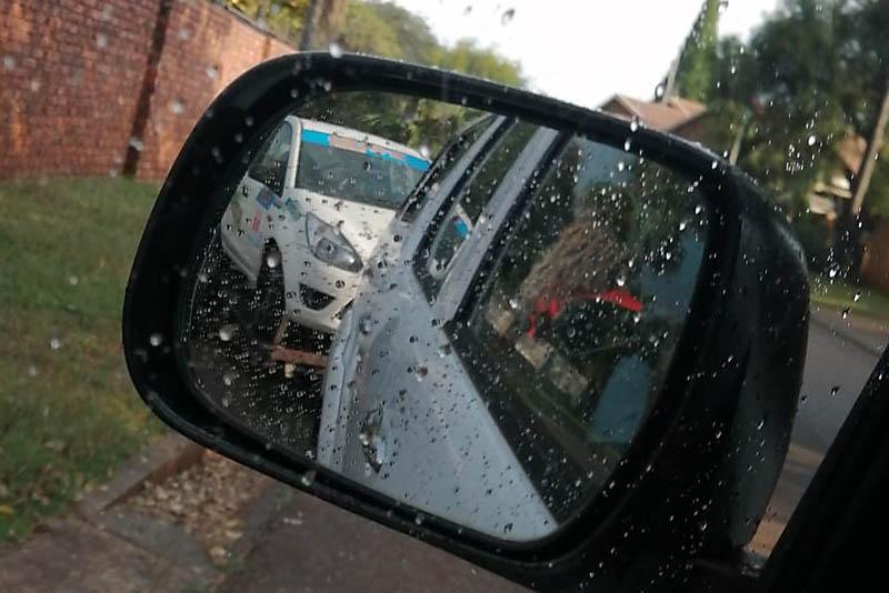 Ford Figo on trailer