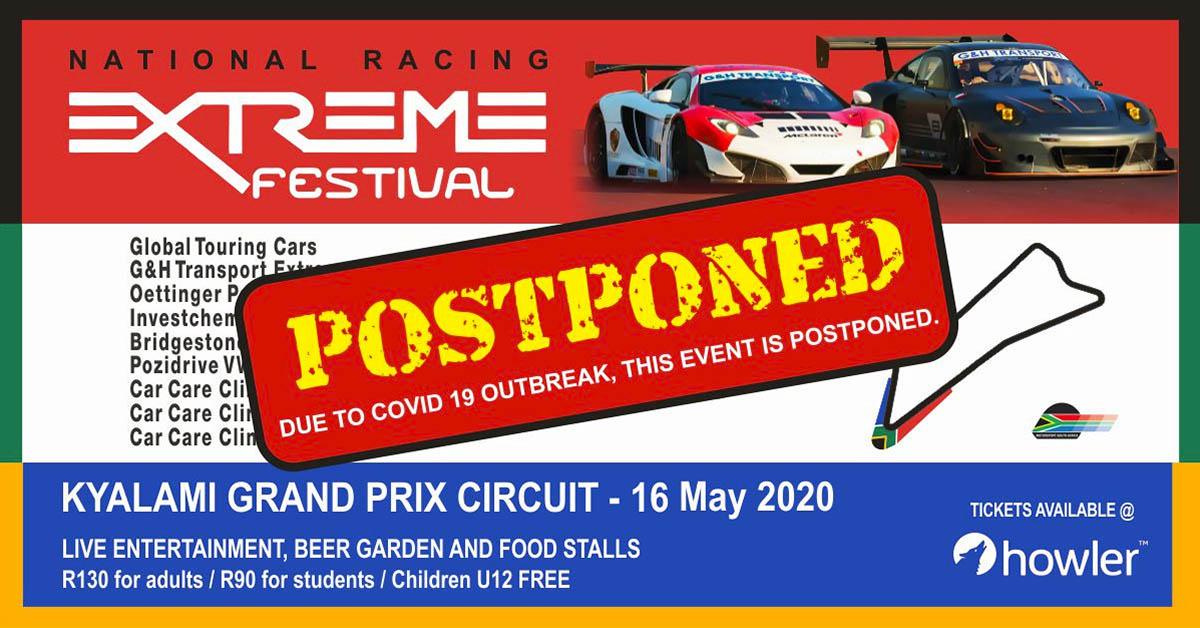 Kyalami Postponed