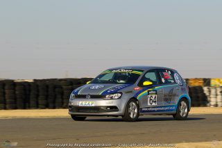 Mel Spurr at the Phakisa 200