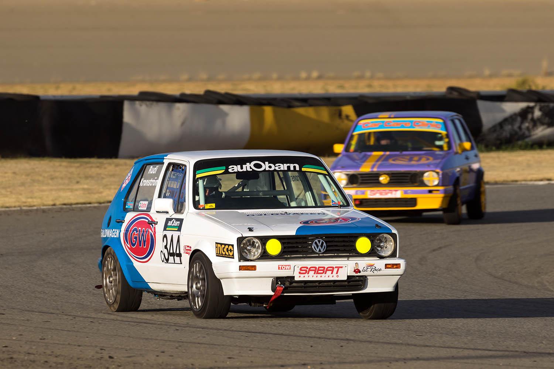 Rudi Kronstrom won Class C at the Phakisa 200