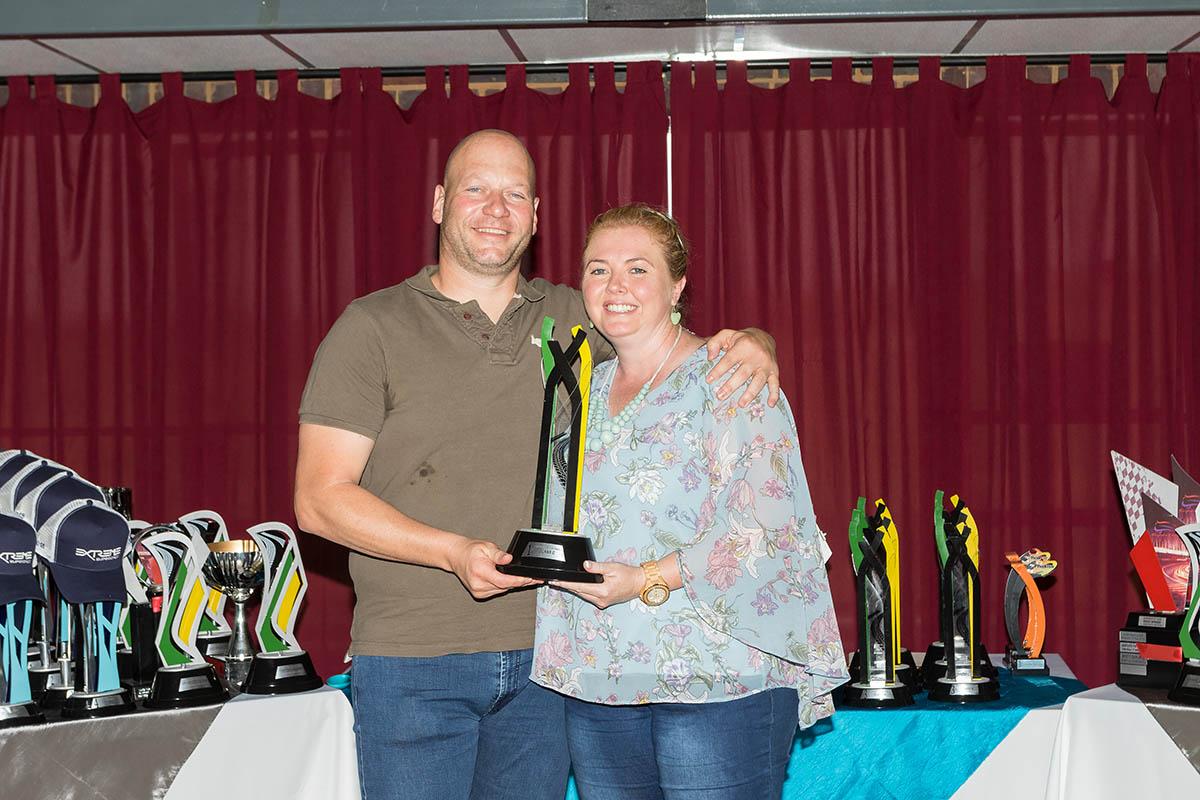 Class C winner Almero van Eck