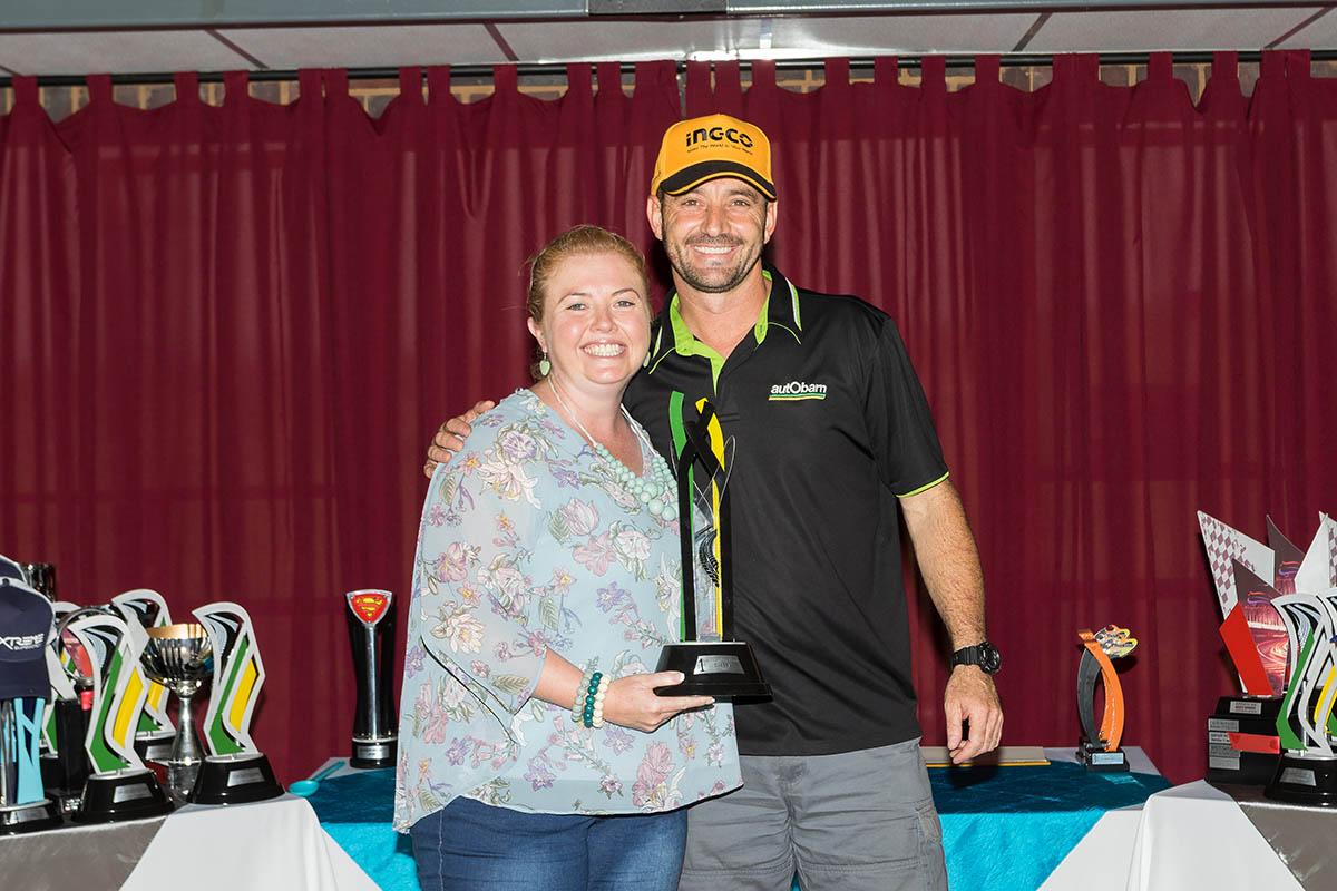 Class A champion Brett Garland